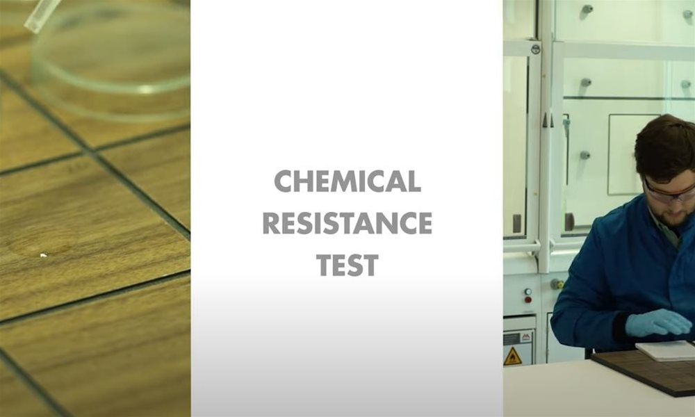 Trespa Quality Videos #10: Chemical Resistance Test