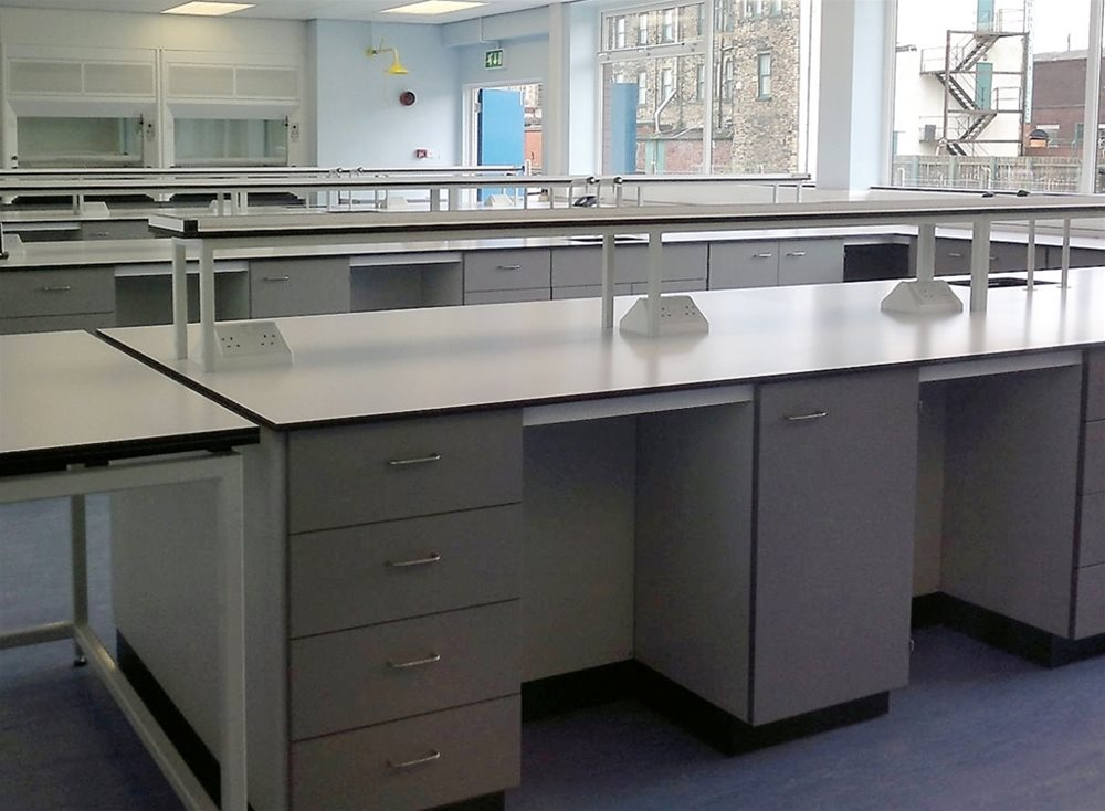 William Blythe Full Laboratory Refurbishment