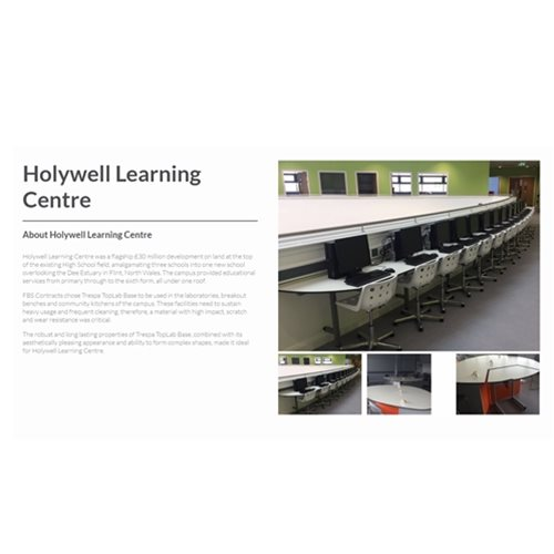 Holywell learning Centre Page