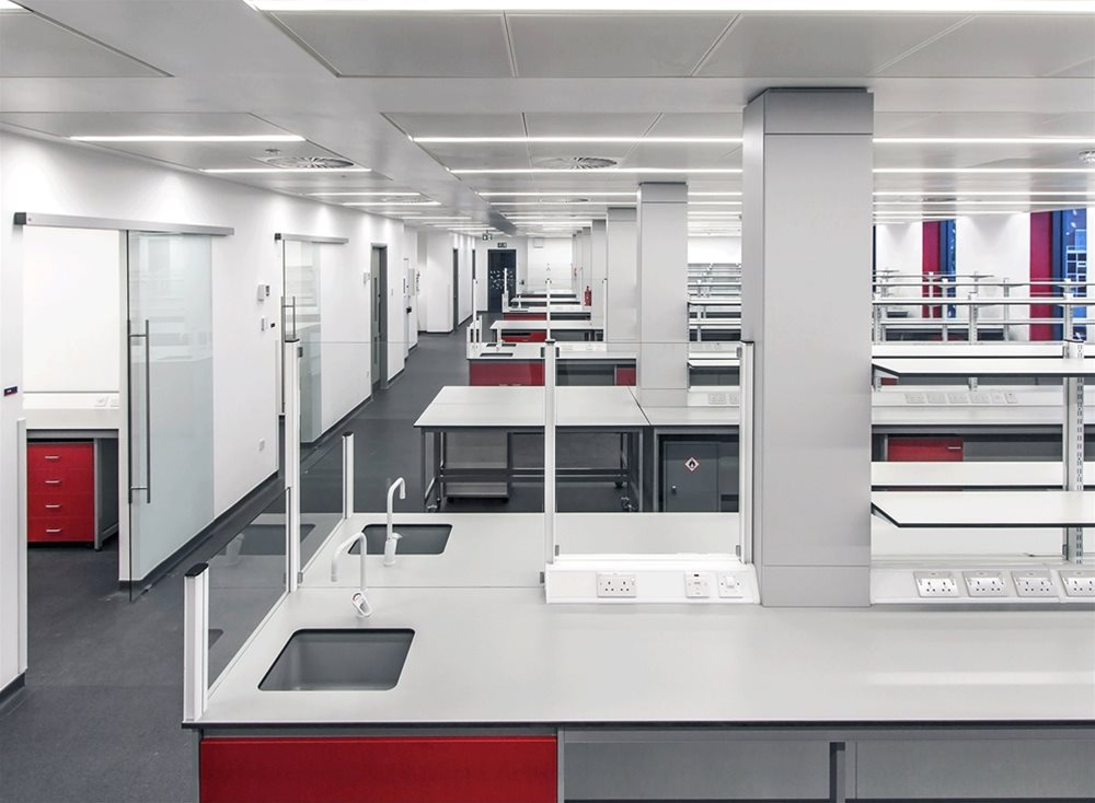 Easter Bush Campus Laboratories Case Study using Trespa TopLab Base