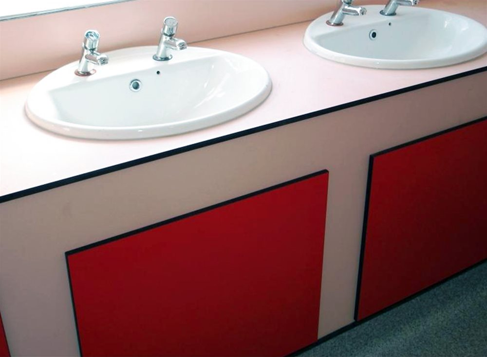 Arpa Athlon Cubicle & washroom collection