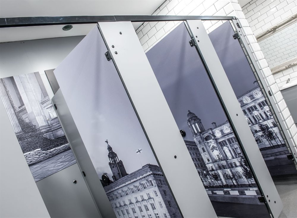 Liverpool Lime Street Railway Station ARPA Compact Grade Laminate - digital printing