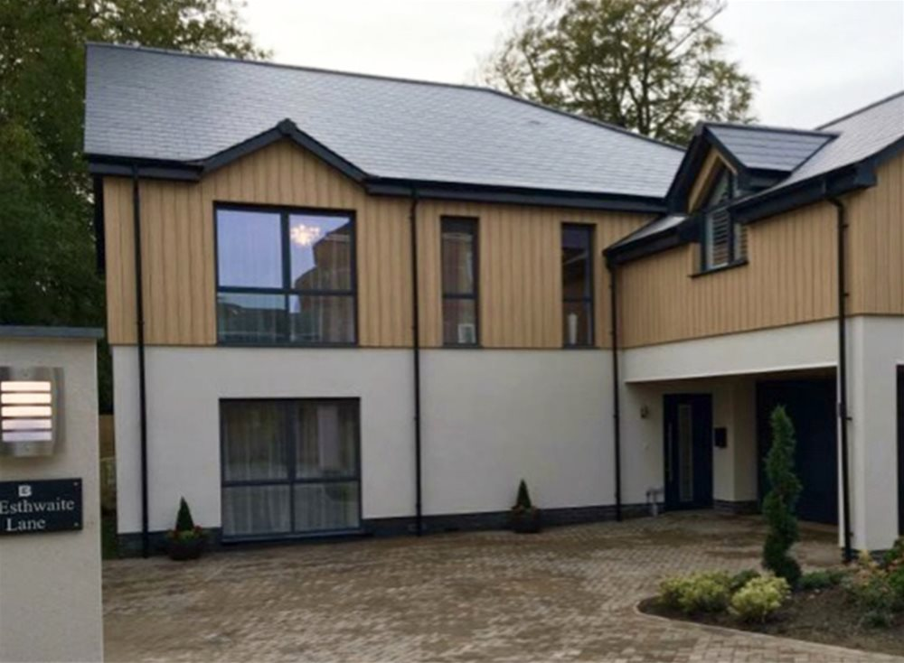 Trespa Pura Cladding @ Burrington Estates