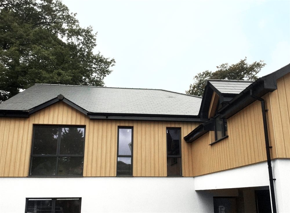 Trespa Pura Cladding - Burrington Estates  | UK Distributor Performance Panels Limited