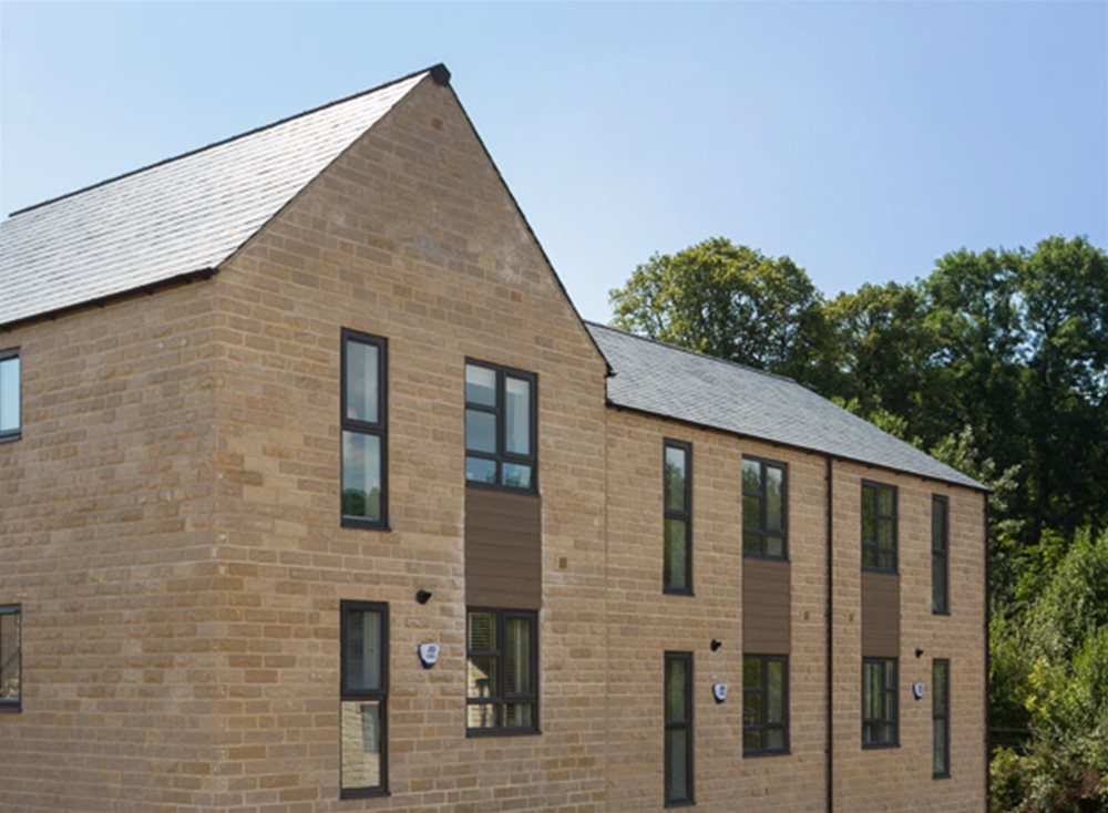 Skipton Properties Haworth | Trespa Pura Cladding at Performance Panels Ltd