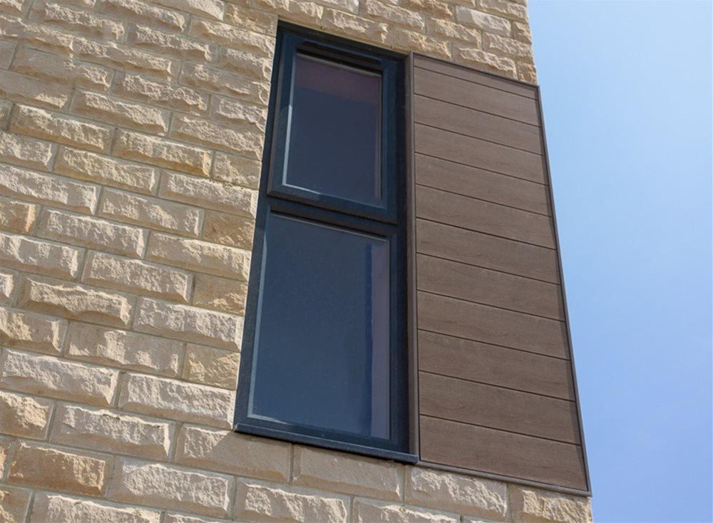 Skipton Properties Haworth | Trespa Pura Cladding Panels at Performance Panels Ltd