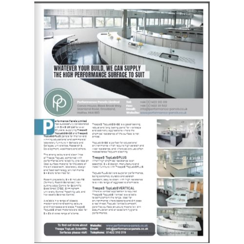 Building Design and Construction Magazine - Trespa TopLab Surfaces