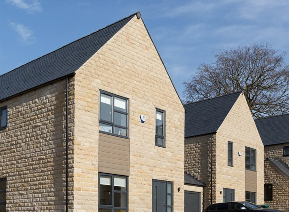 Trespa Pura Cladding Case Study - Skipton Properties, Haworth