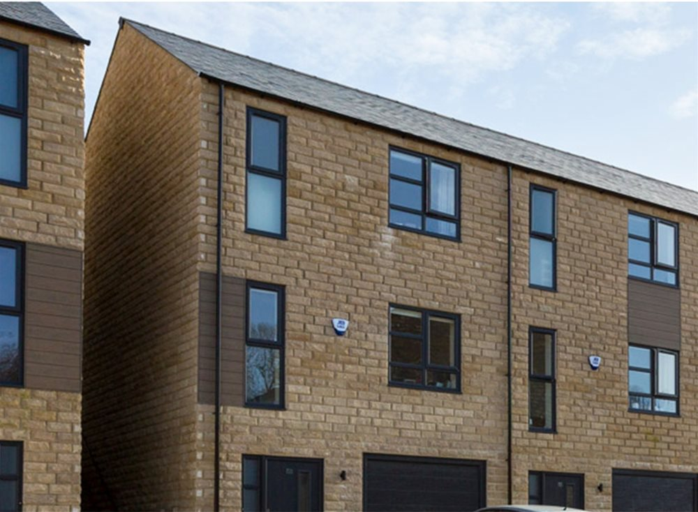 Trespa Pura Cladding Case Study - Skipton Properties, The Bridge, Haworth