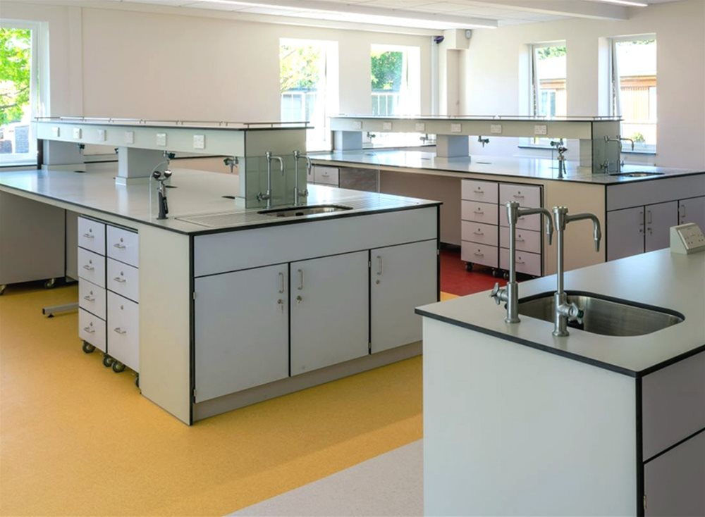 Trespa TopLab work surfaces and cupboards - Bader International Study Centre (BISC)