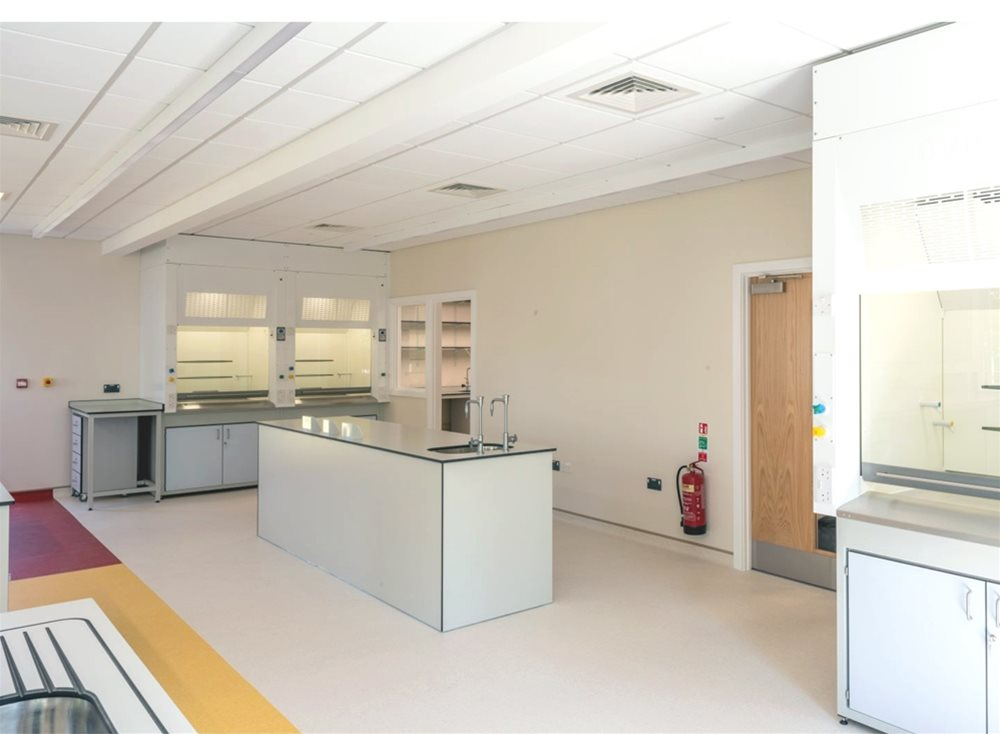 Trespa TopLab panels used for a laboratory at Bader International Study Centre